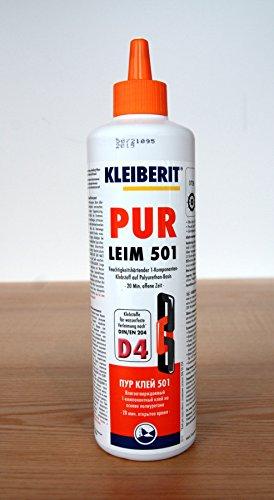 Kleiberit PUR Leim 501 - für hochfeste Verbindungen - 0.5kg
