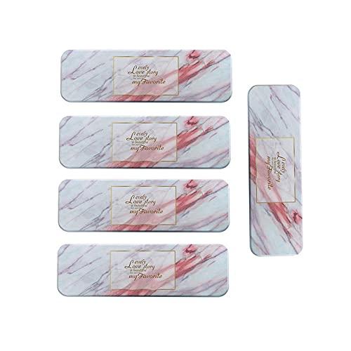 YOURAN Juego de 5 manteles individuales con diatomeas de mármol, absorbentes de secado rápido para jabón de secado rápido. Posavasos en forma de D