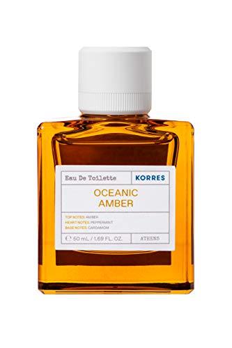 Korres OCEANIC AMBER homme/men, Eau de Toilette, 1er Pack (1 x 50 ml)