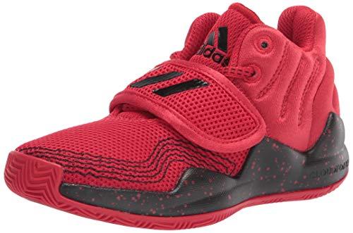 adidas Deep Threat - Zapatillas de Baloncesto Unisex para niños pequeños, Talla 3