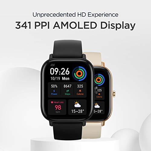 Amazfit GTS, Smartwatch Unisex Adulto, Black