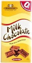 Milk Choc Bar No add Sugar 75g Bulk Pack of 12 Estimated Price : £ 20,97