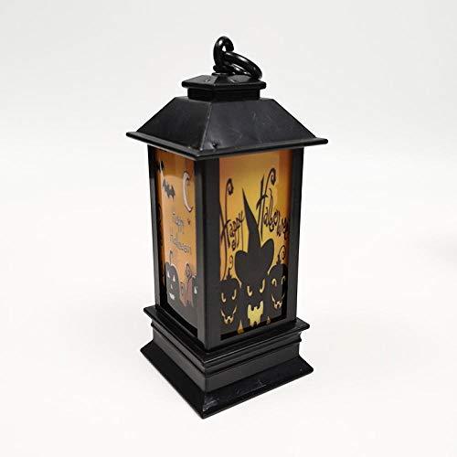 Yinaa Halloween Deko Dekoration für Party Haus Tisch & Garten Led Leuchtet Bunte Farbverlauf Fledermaus