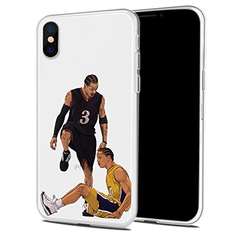 Bap Store Basketball Silicone Protective Transparent Thin case Compatible with iPhone XR (06)