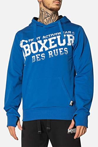 Boxeur des rues BXT-4552 - Sudadera de hombre, Azul Real, XXL