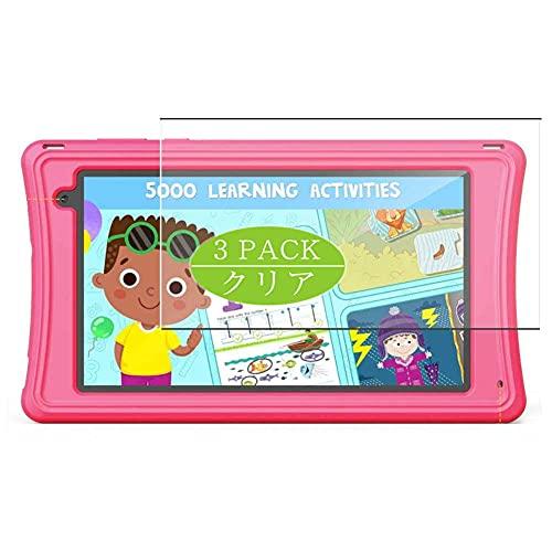 VacFun 3 Piezas Claro Protector de Pantalla, compatible con JEEMAK Kids Tablet M70 7', Screen Protector Película Protectora(Not Cristal Templado)