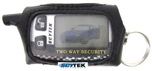 Scytek-Remote-Case - Scytek Alarms Remote Protector Faux-Leather Case for Pager Remote