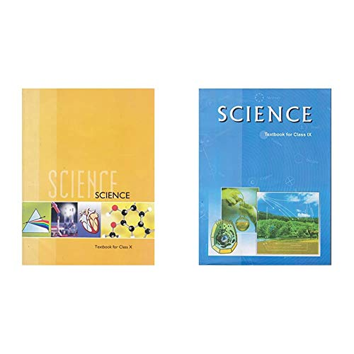 Science Textbook for Class 10- 1064 & Science Textbook for Class - 9 - 964 (Set of 2 Books)