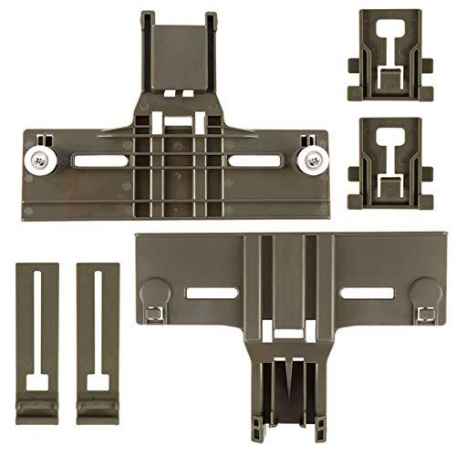 Upgraded Dishwasher Top Rack Adjuster W10350376(2) W10195839(2)...