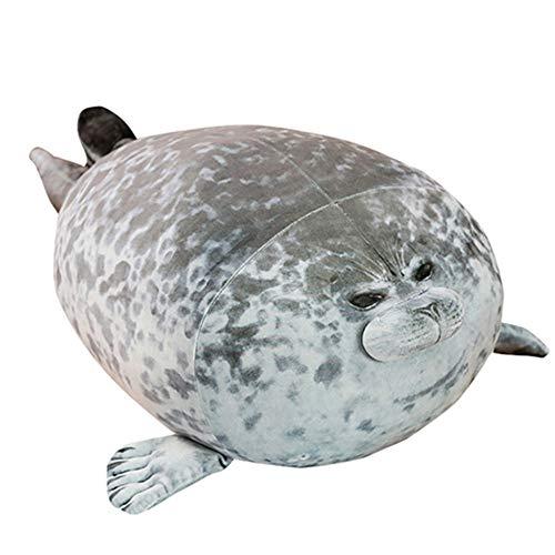OUKEYI Bonito cojín de peluche, de algodón, con diseño de animales de peluche, bonito océano, de 44,7 cm