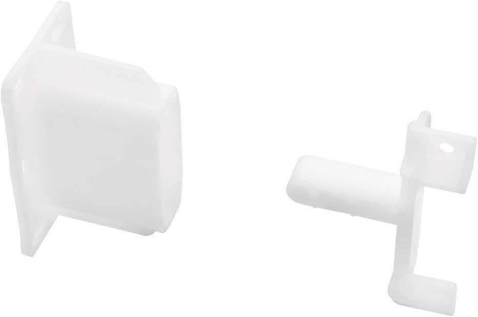 Liberty Hardware Slide - White Direct stock discount New mail order D806SEC-W-D