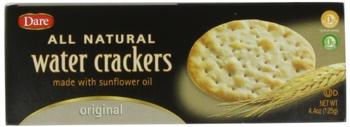 Dare Water Cracker Original 4.4-Ounce by Max 41% OFF of wholesale 12 Packages Pack