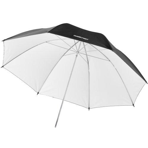 Walimex Pro - Ombrello riflettente, 84 cm, colore: Nero/Bianco