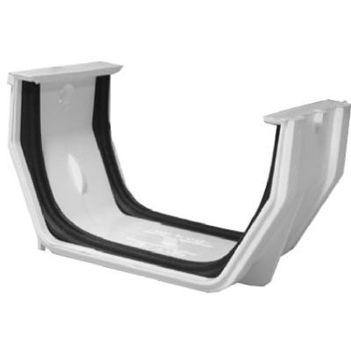 GENOVA PRODUCTS TV177451 White Gutter Slip Joint