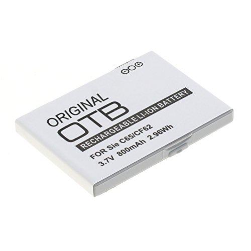Preisvergleich Produktbild OTB - Akku Kompatibel zu Siemens C65 / CF62 / AX75 / CF75 - Li-Ion - 800mAh Kapazität