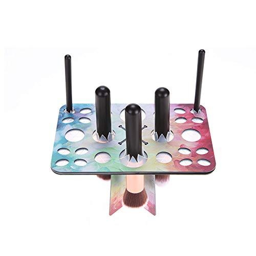 Porte-pinceau de maquillage Pinceau de maquillage porte tour d'arbre séchage à l'air boîte de rangement pliant porte-balais cosmétique rack outil Séchoir