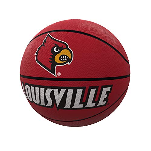 Find Bargain logobrands NCAA Louisville Mascot Official-Size Rubber Basketball, Multi, One Size