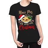 Horneado navideño para Mujeres: ¡Las Tartas de Carne picada Son de por Vida, no Solo para Navidad! Camiseta (Talla XL