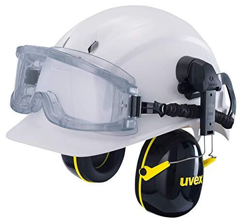 Uvex Ultravision Vollsichtbrille - Überbrille, Schutzbrille - Transparent/Grau-Transparent