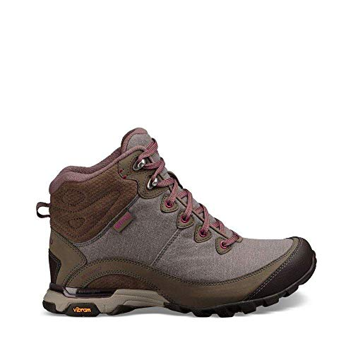 Ahnu Women's W Sugarpine II Waterproof Hiking Boot, Walnut, 8.5 Medium US