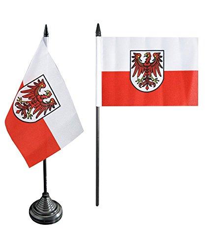Flaggenfritze Tischflagge/Tischfahne Italien Südtirol + gratis Aufkleber