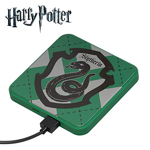Power Bank 4000 mAh Slytherin – Cargador de batería portátil universal original Harry Potter, Tribe PBL23701
