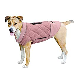 VARIOUS SIZES - Measure your dog's chest girth (very important) and back length by following sizing guide to choose a right sized pet coat. Before taking any measurements, please ensure your dog is standing still and upright, looking forward and on a...
