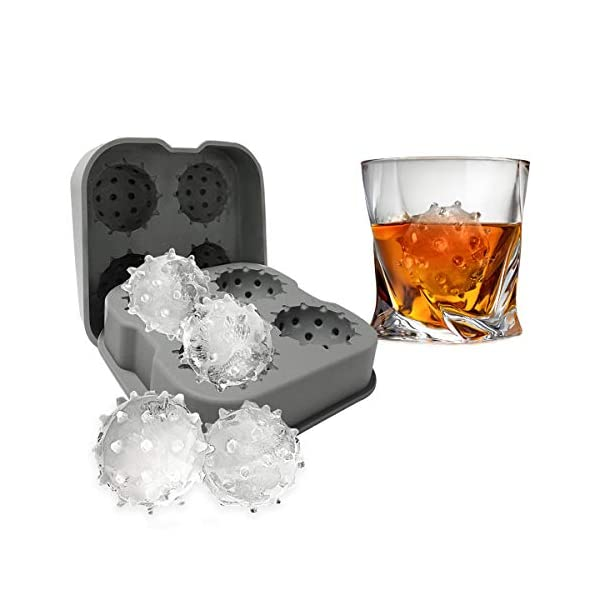 Ice Tray Mould in The Shape of a Virus Novelty Item