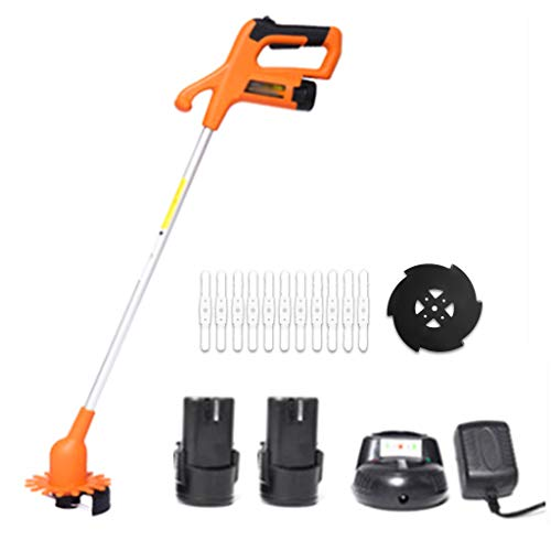 Great Price! Cordless Strimmer 12V Lithium Ion, Light and Powerful Grass Trimmer, Including Battery ...