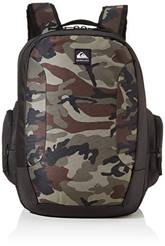 Quiksilver Mens SCHOOLIE Backpack, Crucial CAMO, 1 Size