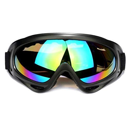 Keemov - Gafas de moto con protección UV para adultos