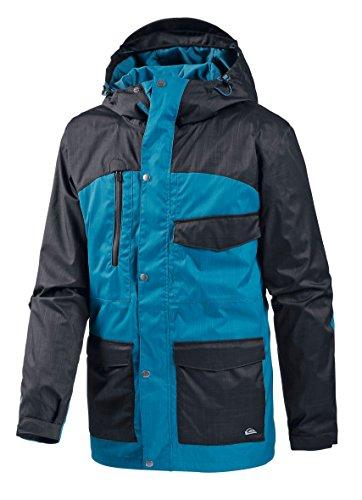 Quiksilver Herren Snowboard Jacke Roger That Insulated, Anthracite, S, KTMSJ694-KVJ0