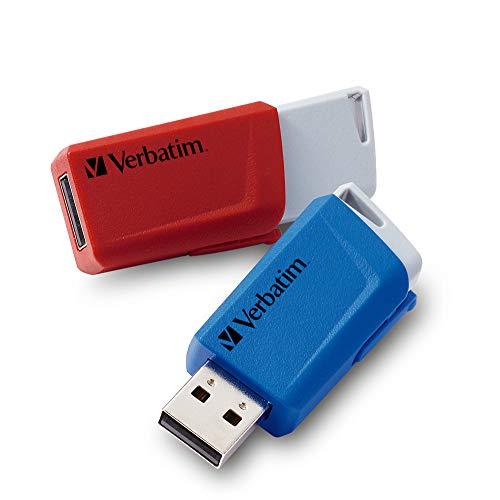 Verbatim V Store N Click 32GB Rosso, Blu 49308 USB 3.0