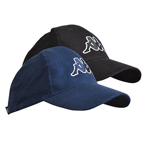Kappa 2er Pack Unisex Cap Kappe