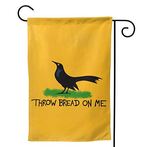 Throw Bread On Me Garden Flag Yard Outdoor Decoration Double Sided Flag 12.5'x18'/28'x40'