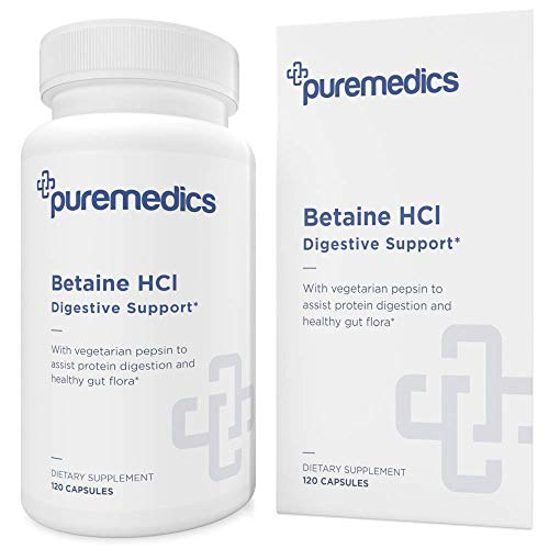 PUREMEDICS Betaine HCL with Pepsin …