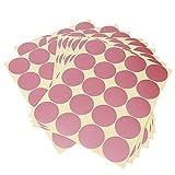 Vinilo de Pared Puntos Extraíble y Fácil de Pelar Pegatina de Pared Set Para Sala de Estar Decoración de Dormitorio 200 Piezas Oro Rosa
