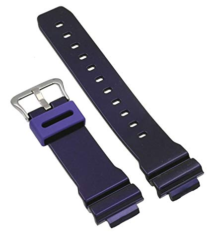 Casio 10332044 Genuine Factory Replacement Band for Colorful G Shocks - DW6900CC-6V (Purple)