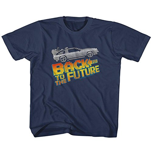 Boys 8 Bit Back To The Future Graphic Tee for Toddler/Kids