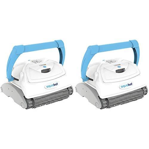 Learn More About Aquabot Breeze IQ Wall Climbing Automatic Robotic Brush Pool Cleaner (2 Pack)