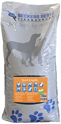 Beckers Beste - Trockenfutter Hund Sport & Agility mit Geflügel 15kg - glutenfrei- Junghund, Adult & Senior - Hundefutter große und kleine Hunde-Rassen
