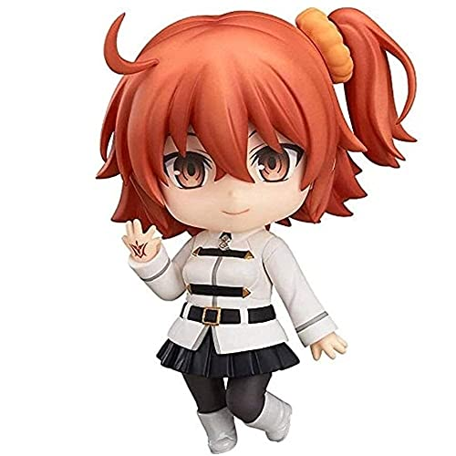 JIANGCJ Hermosa Gudako Nendoroide Anime Action Figure Fgo Fate Fate/Grand Ped Orden PVC Figure Collectible Modelo de Caracteres Estatua Estatua Toys Desktop Ornaments WTZ012