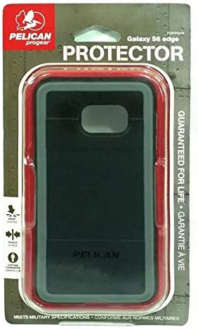 new arrival Pelican ProGear Protector Series for Samsung Galaxy S6 Edge - Retail new arrival Packaging - sale Black / Gray online