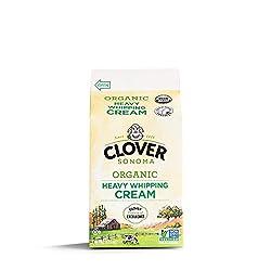 Clover Sonoma, Organic Heavy Cream, pint, 16 Oz