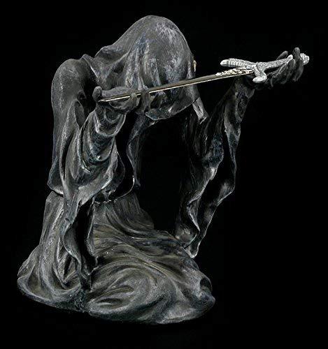 Figuren Schattendämon mit Brieföffner Reaper Figur mit Schwert