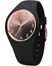 Ice-Watch - ICE sunset Black - Montre noire pour femme avec bracelet en silicone