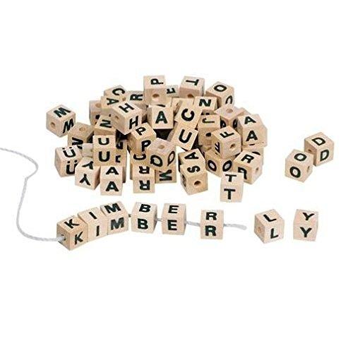 Buchstabenwürfel 300 Stück inkl. Band