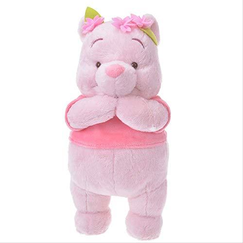 Sakura Cherry Blossom Rosa Pooh Bär Gefüllte Plüschtiere Kawaii Winnie The Pooh Plüsch Puppen Geschenke Für Kinder 21cm Laimi