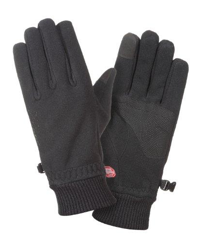 Ziener Ideal WS Gants touchhandschuh Touch 8,5 Noir - Noir