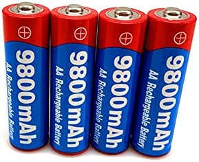 Rechargeable Batteries 1.5V 9800Mah Battery Easy-to-use Max 48% OFF Ni-Mh 1